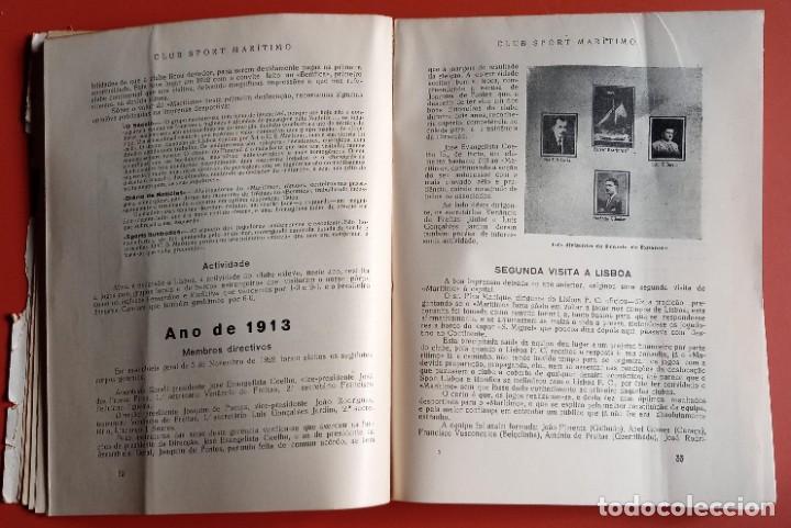 Coleccionismo deportivo: CLUB SPORT MARÍTIMO - 1910 - 1945 - FUNCHAL MADEIRA - FIRMA AUTOR - FOTOGRAFIAS - RARO Y ÚNICO - Foto 9 - 212423956
