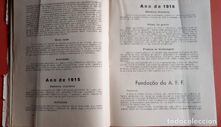 Coleccionismo deportivo: CLUB SPORT MARÍTIMO - 1910 - 1945 - FUNCHAL MADEIRA - FIRMA AUTOR - FOTOGRAFIAS - RARO Y ÚNICO - Foto 10 - 212423956