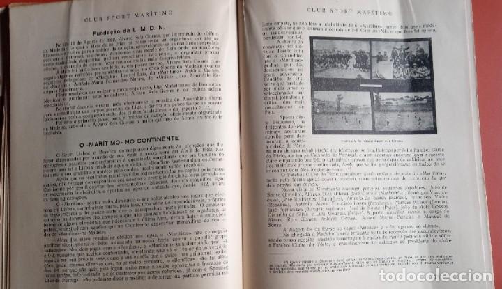 Coleccionismo deportivo: CLUB SPORT MARÍTIMO - 1910 - 1945 - FUNCHAL MADEIRA - FIRMA AUTOR - FOTOGRAFIAS - RARO Y ÚNICO - Foto 11 - 212423956