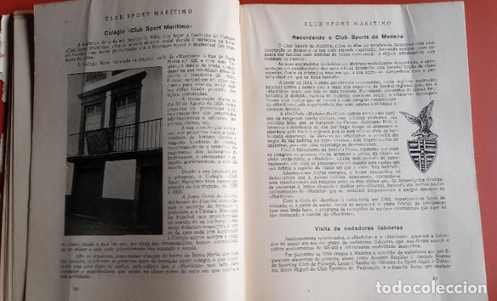 Coleccionismo deportivo: CLUB SPORT MARÍTIMO - 1910 - 1945 - FUNCHAL MADEIRA - FIRMA AUTOR - FOTOGRAFIAS - RARO Y ÚNICO - Foto 12 - 212423956