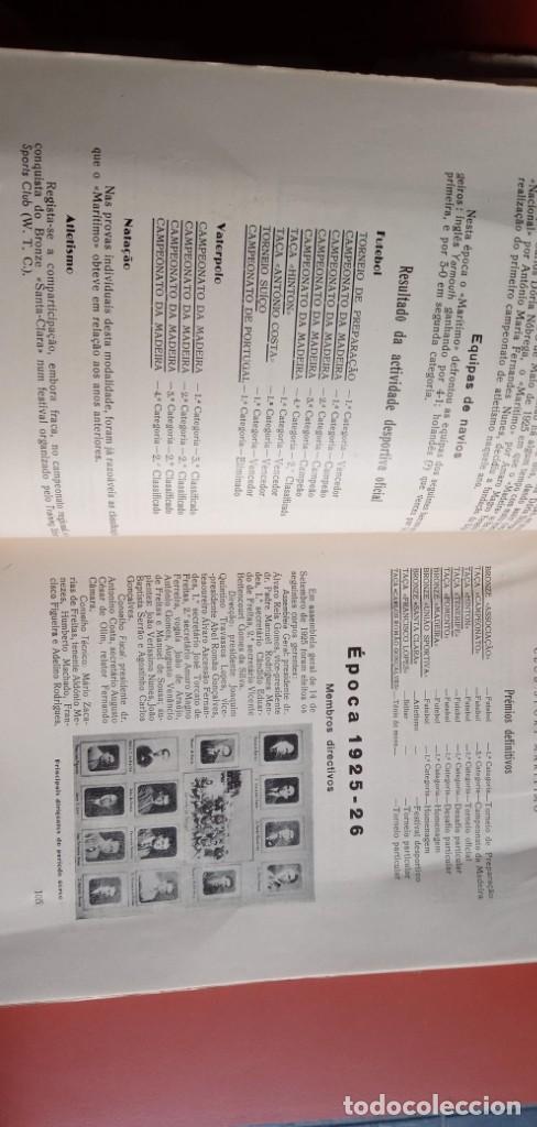 Coleccionismo deportivo: CLUB SPORT MARÍTIMO - 1910 - 1945 - FUNCHAL MADEIRA - FIRMA AUTOR - FOTOGRAFIAS - RARO Y ÚNICO - Foto 13 - 212423956