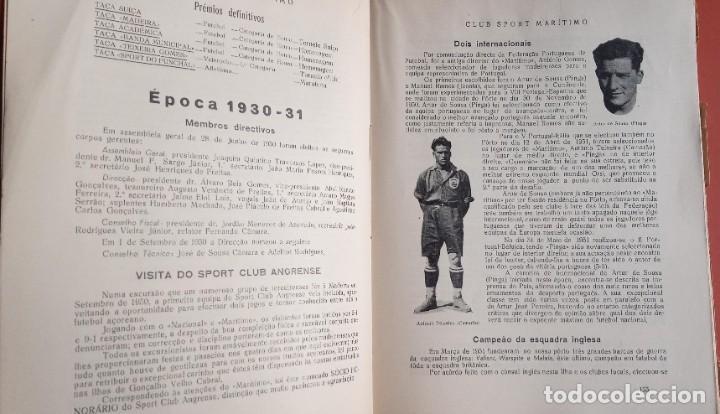 Coleccionismo deportivo: CLUB SPORT MARÍTIMO - 1910 - 1945 - FUNCHAL MADEIRA - FIRMA AUTOR - FOTOGRAFIAS - RARO Y ÚNICO - Foto 15 - 212423956