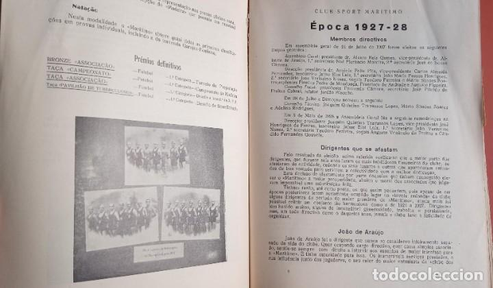 Coleccionismo deportivo: CLUB SPORT MARÍTIMO - 1910 - 1945 - FUNCHAL MADEIRA - FIRMA AUTOR - FOTOGRAFIAS - RARO Y ÚNICO - Foto 16 - 212423956
