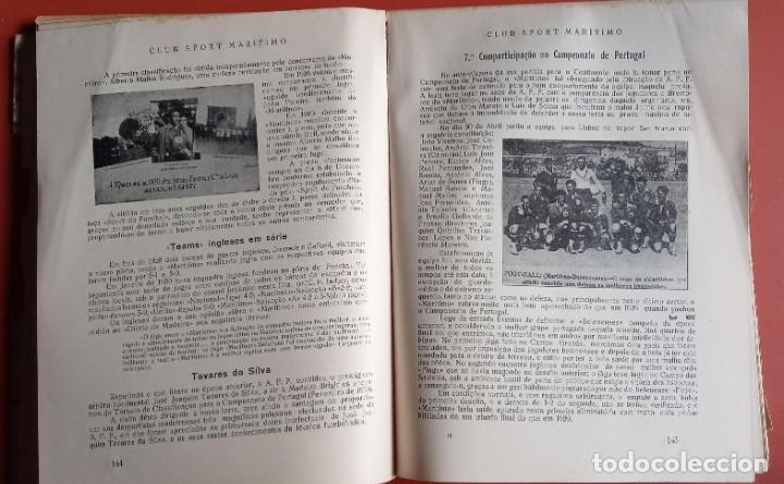 Coleccionismo deportivo: CLUB SPORT MARÍTIMO - 1910 - 1945 - FUNCHAL MADEIRA - FIRMA AUTOR - FOTOGRAFIAS - RARO Y ÚNICO - Foto 17 - 212423956