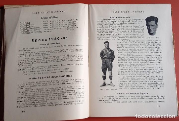 Coleccionismo deportivo: CLUB SPORT MARÍTIMO - 1910 - 1945 - FUNCHAL MADEIRA - FIRMA AUTOR - FOTOGRAFIAS - RARO Y ÚNICO - Foto 18 - 212423956