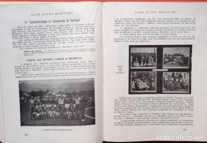 Coleccionismo deportivo: CLUB SPORT MARÍTIMO - 1910 - 1945 - FUNCHAL MADEIRA - FIRMA AUTOR - FOTOGRAFIAS - RARO Y ÚNICO - Foto 19 - 212423956