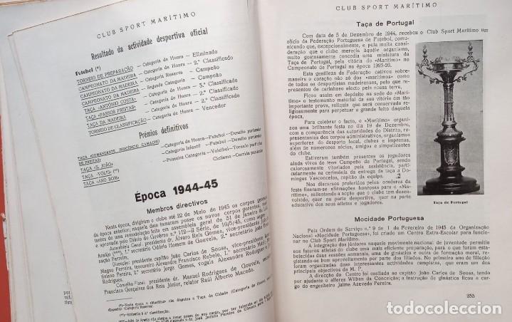 Coleccionismo deportivo: CLUB SPORT MARÍTIMO - 1910 - 1945 - FUNCHAL MADEIRA - FIRMA AUTOR - FOTOGRAFIAS - RARO Y ÚNICO - Foto 20 - 212423956