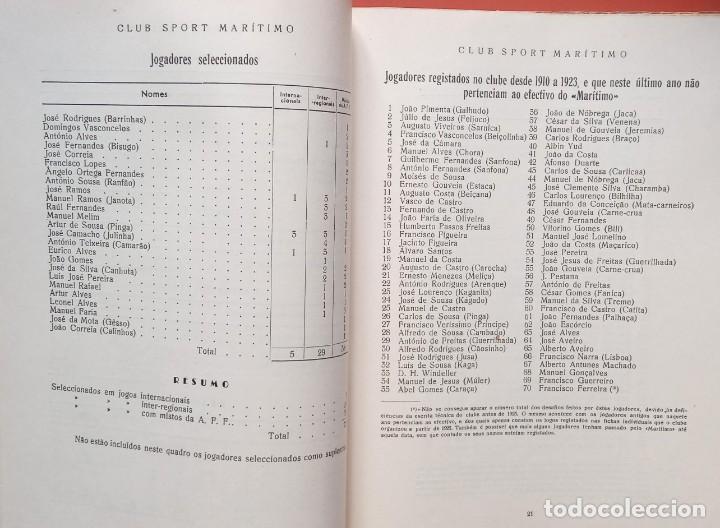 Coleccionismo deportivo: CLUB SPORT MARÍTIMO - 1910 - 1945 - FUNCHAL MADEIRA - FIRMA AUTOR - FOTOGRAFIAS - RARO Y ÚNICO - Foto 22 - 212423956