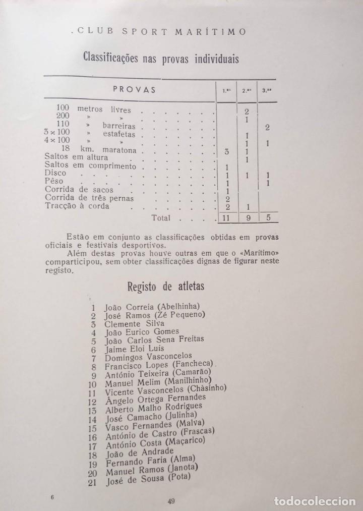 Coleccionismo deportivo: CLUB SPORT MARÍTIMO - 1910 - 1945 - FUNCHAL MADEIRA - FIRMA AUTOR - FOTOGRAFIAS - RARO Y ÚNICO - Foto 23 - 212423956
