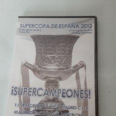 Coleccionismo deportivo: SÚPERCOPA DE ESPAÑA 2012. Lote 212769490