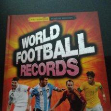 Coleccionismo deportivo: LIBRO FUTBOL WORLD FOOTBALL RECORDS. Lote 212851273