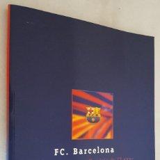 Coleccionismo deportivo: LIBRO / F.C. BARCELONA MEMÓRIA DE 19 ANYS 1978-1997. Lote 214478748