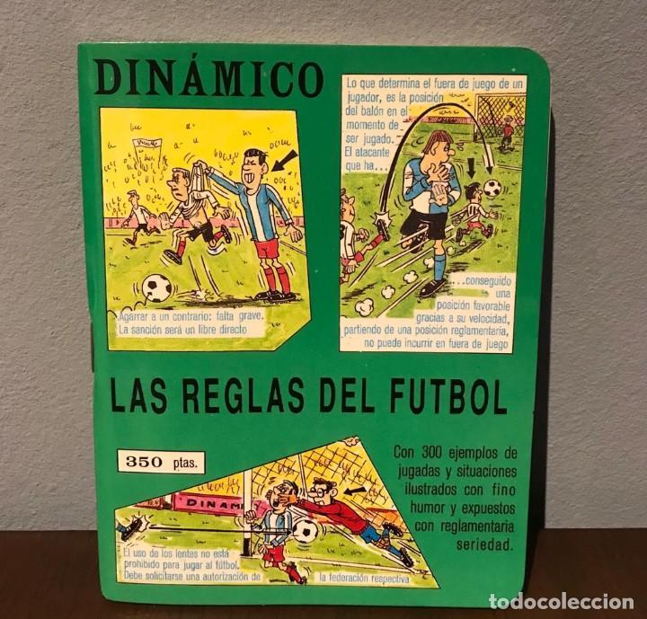 ANTIGUO LIBRITO DE LAS REGLAS DE FÚTBOL DINÁMICO AÑO 81 (Coleccionismo Deportivo - Libros de Fútbol)