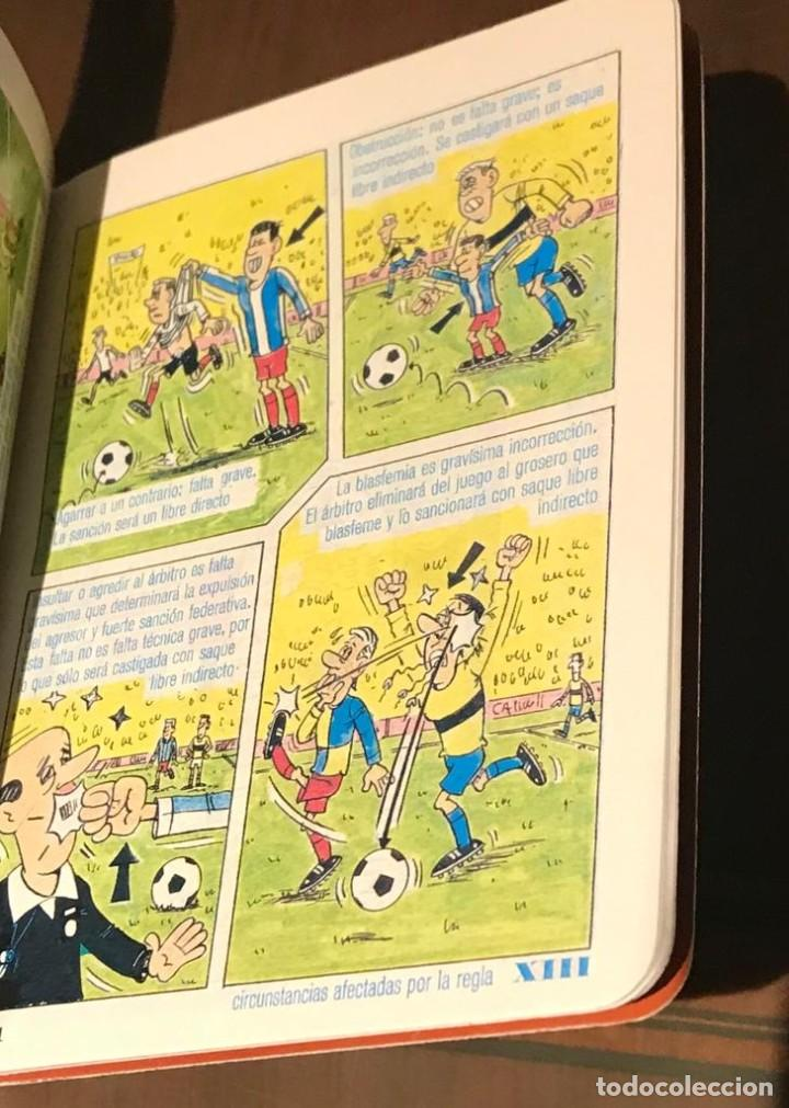 Coleccionismo deportivo: ANTIGUO LIBRITO DE LAS REGLAS DE FÚTBOL DINÁMICO AÑO 81 - Foto 4 - 215267502