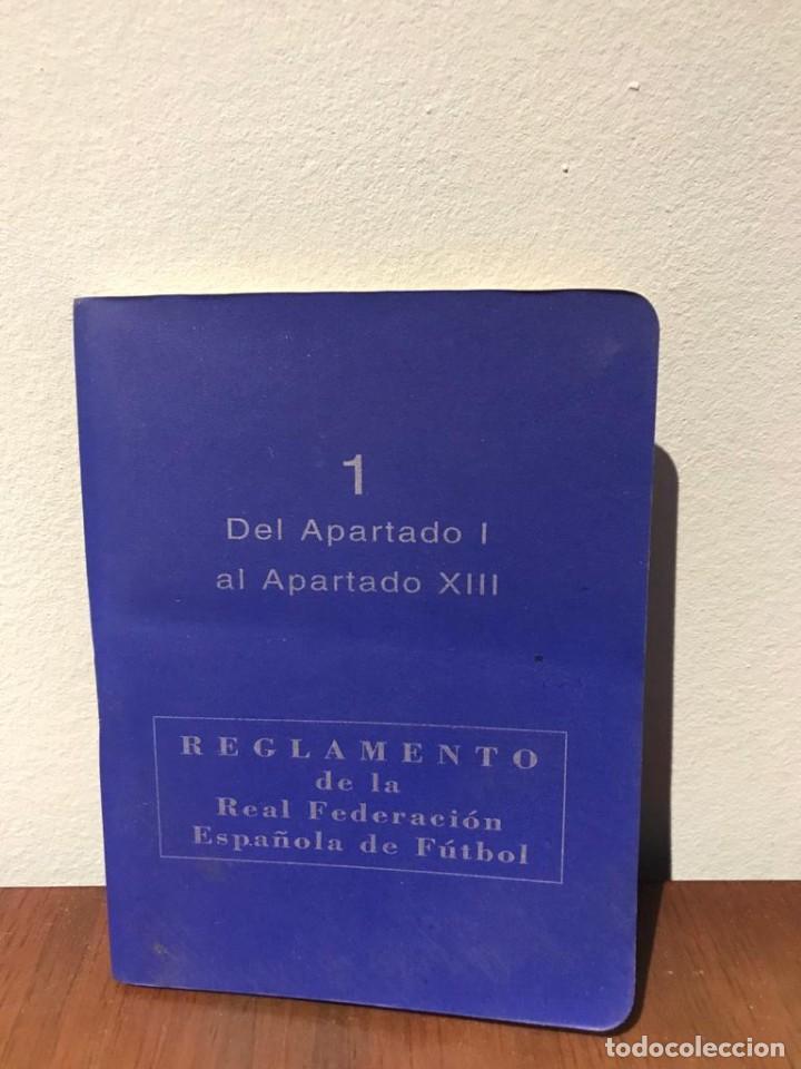 Coleccionismo deportivo: ESTATUTOS Y REGLAMENTO DE LA REAL FEDERACIÓN DE FÚTBOL ESPAÑOLA - AÑO 1983 - Foto 3 - 215271153
