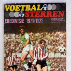 "Coleccionismo deportivo: ALBUM VANDERHOUT. ""VOETBALSTERREN IN AKTIE. NEDERLANDSE EREDIVISIE 1971/1972"".. Lote 215287972"