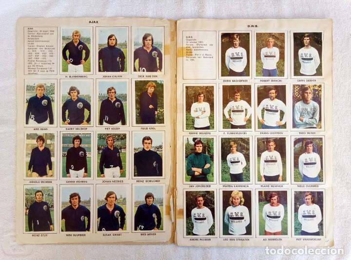 "Coleccionismo deportivo: ALBUM VANDERHOUT. ""VOETBALSTERREN IN AKTIE. NEDERLANDSE EREDIVISIE 1971/1972"". - Foto 3 - 215287972"