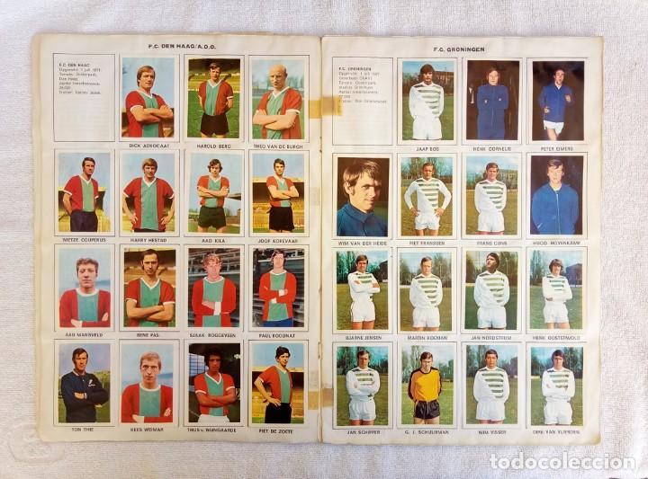 "Coleccionismo deportivo: ALBUM VANDERHOUT. ""VOETBALSTERREN IN AKTIE. NEDERLANDSE EREDIVISIE 1971/1972"". - Foto 4 - 215287972"