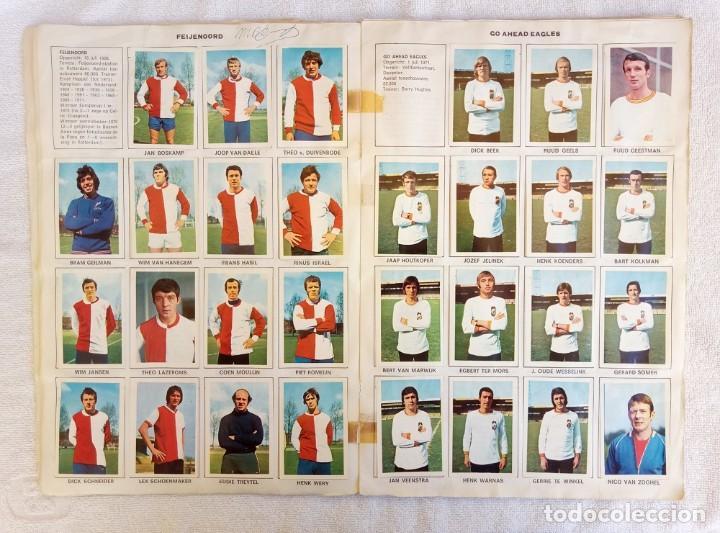 "Coleccionismo deportivo: ALBUM VANDERHOUT. ""VOETBALSTERREN IN AKTIE. NEDERLANDSE EREDIVISIE 1971/1972"". - Foto 5 - 215287972"