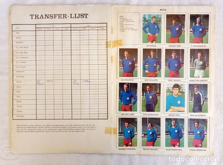 "Coleccionismo deportivo: ALBUM VANDERHOUT. ""VOETBALSTERREN IN AKTIE. NEDERLANDSE EREDIVISIE 1971/1972"". - Foto 6 - 215287972"