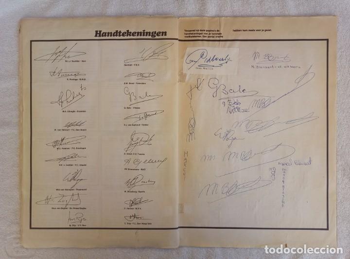 "Coleccionismo deportivo: ALBUM VANDERHOUT. ""VOETBALSTERREN IN AKTIE. NEDERLANDSE EREDIVISIE 1971/1972"". - Foto 7 - 215287972"