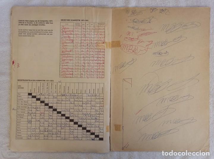 "Coleccionismo deportivo: ALBUM VANDERHOUT. ""VOETBALSTERREN IN AKTIE. NEDERLANDSE EREDIVISIE 1971/1972"". - Foto 8 - 215287972"
