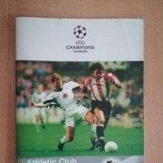 Coleccionismo deportivo: ATHLETIC BILBAO. CHAMPIONS 1998. JUVENTUS.. Lote 215740657