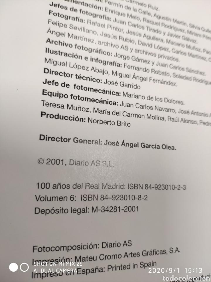 Coleccionismo deportivo: COLECCION CIEN AÑOS DEL REAL MADRID (AS) (2001) - Foto 9 - 216013241