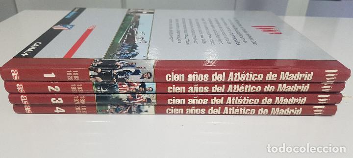 CIEN AÑOS DEL ATLETICO DE MADRID - AS - 4 TOMOS. EXCELENTE CONSERVACIÓN (Coleccionismo Deportivo - Libros de Fútbol)