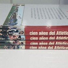 Coleccionismo deportivo: CIEN AÑOS DEL ATLETICO DE MADRID - AS - 4 TOMOS. EXCELENTE CONSERVACIÓN. Lote 217619842