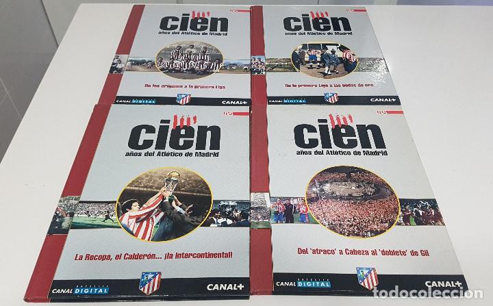 Coleccionismo deportivo: CIEN AÑOS DEL ATLETICO DE MADRID - AS - 4 TOMOS. Excelente conservación - Foto 2 - 217619842