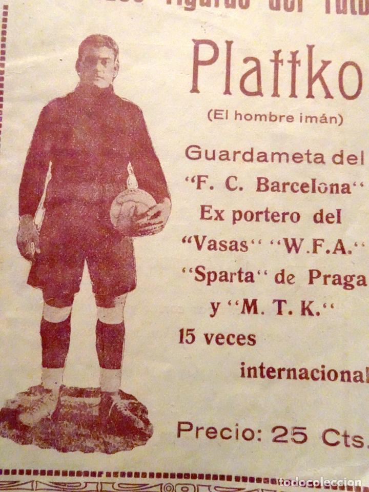 Coleccionismo deportivo: LIBRO LAS GRANDES FIGURAS DEL FUBOL - PLATTKO - FUTBOL CLUB BARCELONA - TOMO VII - Foto 2 - 217693670