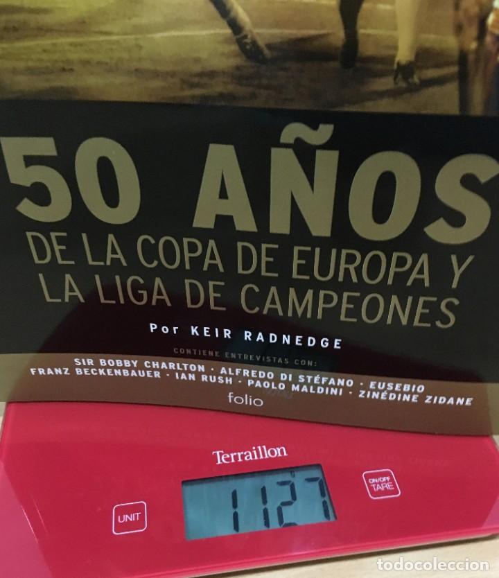 Coleccionismo deportivo: LIBRO DE FÚTBOL - 50 AÑOS DE LA COPA DE EUROPA Y LIGA DE CAMPEONES. EDICIONES FOLIO, 2006 - Foto 15 - 218250730