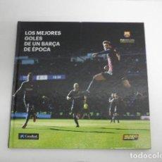 Collectionnisme sportif: FOTO LIBRO LOS MEJORES GOLES DE UN BARÇA DE ÉPOCA - 75 PAG MESSI RONALDINHO WEMBLEY FC BARCELONA. Lote 218272480