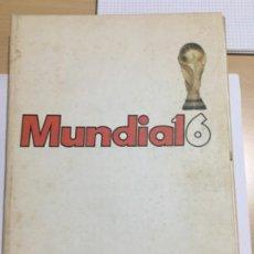 Coleccionismo deportivo: MEXICO 86 LIBRO COLECIONABLE DE MUNDIAL16. Lote 218442663