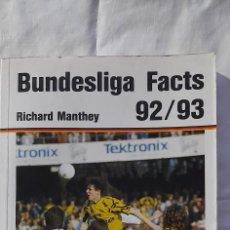 Coleccionismo deportivo: BUNDESLIGA 92/93. Lote 218830101