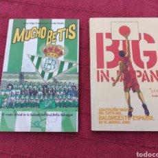 Coleccionismo deportivo: COMIC MUCHO BETIS/COMIC BIG IN JAPAN, DEPORTIVOS FÚTBOL Y BALONCESTO, HISTORIA DEPORTIVA /LIBRO. Lote 220509272