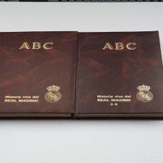 Coleccionismo deportivo: HISTORIA VIVA DEL REAL MADRID, ABC, 1902-1987, 2 TOMOS, COMPLETO, MUY BUEN ESTADO. Lote 220644855