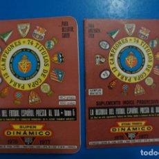Coleccionismo deportivo: LIBRO DE FUTBOL ANUARIO DINAMICO 1976-1977/76-77 LA HISTORIA DEL FUTBOL ESPAÑOL PUESTO AL DIA. Lote 220747422