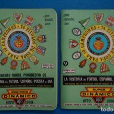 Coleccionismo deportivo: LIBRO DE FUTBOL ANUARIO DINAMICO 1979-1980/79-80 LA HISTORIA DEL FUTBOL ESPAÑOL PUESTA AL DIA. Lote 220839843