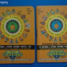 Coleccionismo deportivo: LIBRO DE FUTBOL ANUARIO DINAMICO 1987-1988/87-88 LA HISTORIA DEL FUTBOL ESPAÑOL PUESTA AL DIA. Lote 220840306