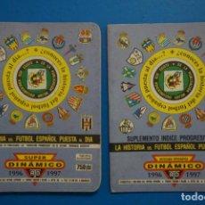Coleccionismo deportivo: LIBRO DE FUTBOL ANUARIO DINAMICO 1996-1997/96-97 LA HISTORIA DEL FUTBOL ESPAÑOL PUESTA AL DIA. Lote 221076335