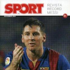 Coleccionismo deportivo: EXTRA SPORT MONOGRÁFICO - ETERNO MESSI. Lote 221223578