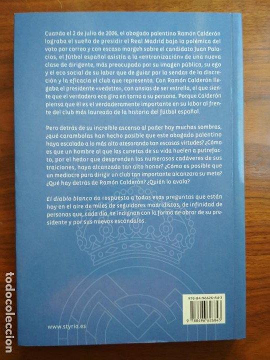 Coleccionismo deportivo: EL DIABLO BLANCO - PACO CAÑAMERO - Foto 2 - 221379320