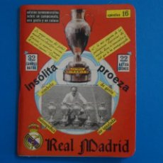Coleccionismo deportivo: LIBRO DE FUTBOL DINAMICO REAL MADRID 1956-1960 APENDICE 16. Lote 221542660