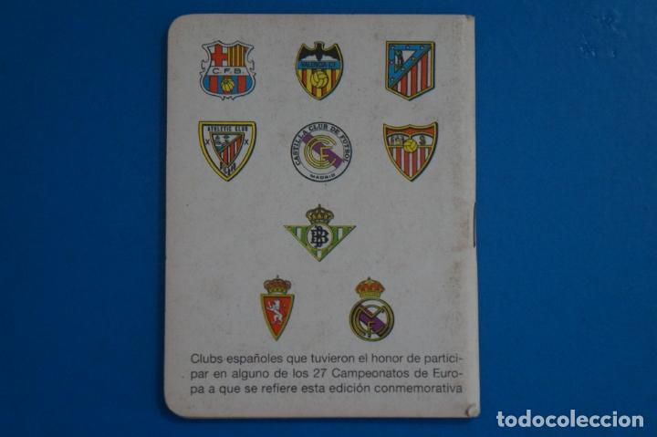 Coleccionismo deportivo: LIBRO DE FUTBOL DINAMICO CAMPEONATOS RECOPA DE EUROPA 1961-1987 APENDICE 17 A - Foto 2 - 221543171