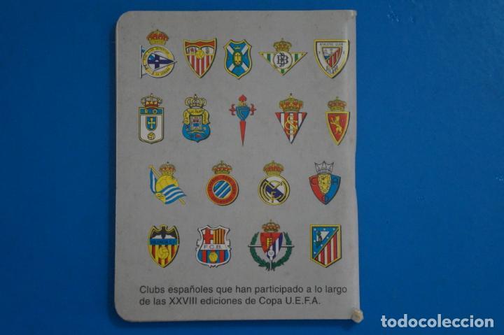 Coleccionismo deportivo: LIBRO DE FUTBOL DINAMICO COPA UEFA 1988-1999 APENDICE 19 C - Foto 2 - 221543681