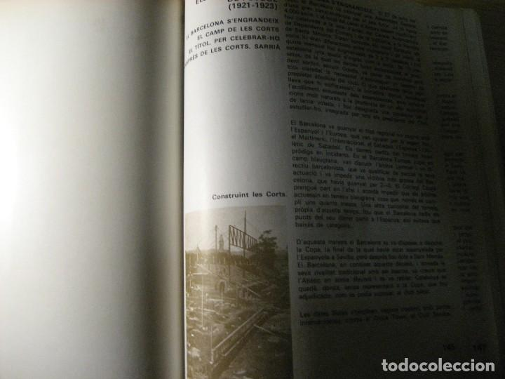 Coleccionismo deportivo: historia del futbol català . j. garcia ed ayma. 1era ed. 1968 fotos escudos desplegables 487 pag - Foto 5 - 221562401