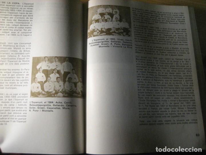 Coleccionismo deportivo: historia del futbol català . j. garcia ed ayma. 1era ed. 1968 fotos escudos desplegables 487 pag - Foto 8 - 221562401