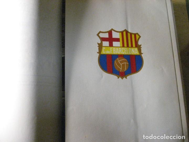 Coleccionismo deportivo: historia del futbol català . j. garcia ed ayma. 1era ed. 1968 fotos escudos desplegables 487 pag - Foto 9 - 221562401